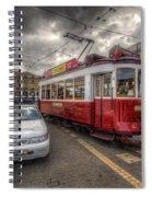 Lisbon Tram Spiral Notebook