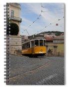 Lisbon Trolley 10 Spiral Notebook