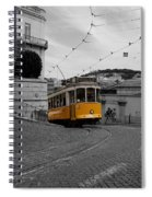 Lisbon Trolley 10c Spiral Notebook
