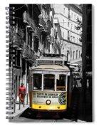Lisbon Trolley 16c Spiral Notebook
