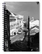 Lisbon Trolley 17b Spiral Notebook