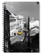 Lisbon Trolley 17c Spiral Notebook