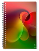 Listen To The Sound Of Colors -1- Spiral Notebook