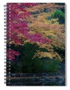Litha Park Ashland Oregon Spiral Notebook