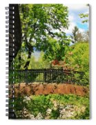 Lithia Park Bridge Spiral Notebook