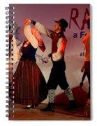 Lithuanian Folk Dance Spiral Notebook