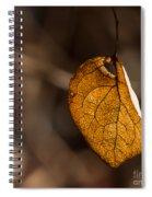 Little Autumn Leaf Spiral Notebook