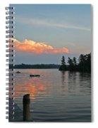 Little Bald Lake Spiral Notebook