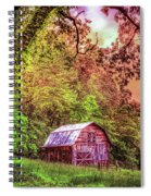 Little Barn In The Smokies Spiral Notebook