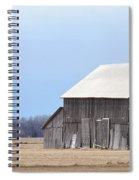 Little Barn On The Prairie  Spiral Notebook