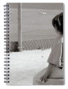 Little Baseball Brother Spiral Notebook