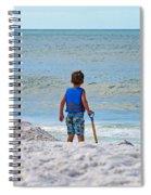 Little Boy Big Dreams Spiral Notebook