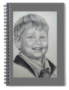 Little Boy Portrait Spiral Notebook