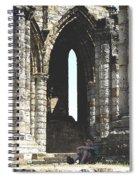 Little Boy Under The Arch Spiral Notebook
