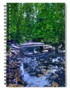 Little Bridge - Japanese Garden Spiral Notebook