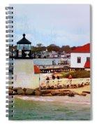 Little Cape Light Spiral Notebook
