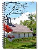 Little Church At Puako Big Island Spiral Notebook