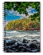 Little Cove On Hawaii' Spiral Notebook