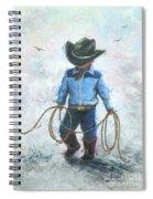 Little Cowboy Lasso Spiral Notebook