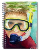 Little Diver Spiral Notebook