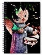 Little Drummer Girl Spiral Notebook