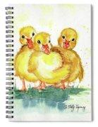Little Ducks Spiral Notebook