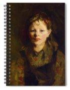 Little Dutch Girl Spiral Notebook