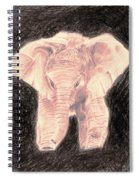 Little Elephant Spiral Notebook