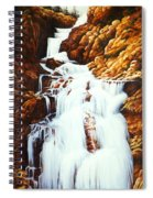 Little Firehole Falls Spiral Notebook