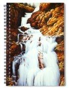 Little Firehole Falls Spiral Notebook