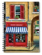 Little French Book Store Spiral Notebook