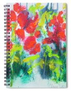 Little Garden 01 Spiral Notebook