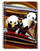 Little Glass Pandas 43 Spiral Notebook