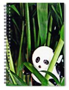 Little Glass Pandas 59 Spiral Notebook
