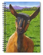 Little Goat Spiral Notebook