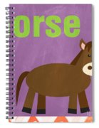 Little Horse Spiral Notebook