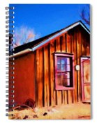 Little House In Lincoln Spiral Notebook