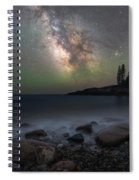Little Hunters Cove At Night Spiral Notebook