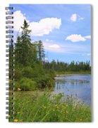 Little Iron Lake Spiral Notebook