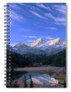 Little Lakes Valley Panorama Spiral Notebook