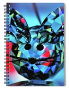Little Mouse - Lead Crystal Spiral Notebook