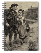 Little Nell And Her Grandfather  Spiral Notebook