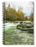 Little Pigeon River Greenbrier Area Of Smoky Mountains Spiral Notebook