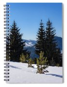 Little Pine Forest - Impressions Of Mountains Spiral Notebook
