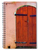 Little Pink House Spiral Notebook