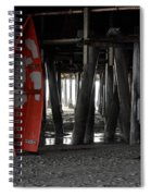 Little Red Boat Spiral Notebook
