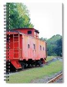 Little Red Caboose Enhanced Spiral Notebook