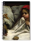 Little Red Riding Hood Spiral Notebook