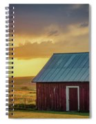 Little Red Shed Spiral Notebook