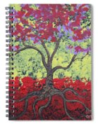 Little Red Tree Spiral Notebook